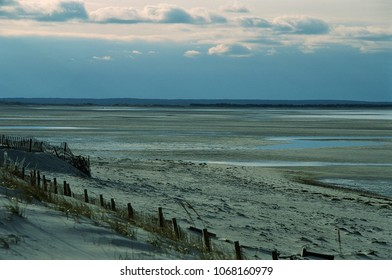 A beautiful wide view across the mudflats at Mayflower Beach, Dennis, MA.
