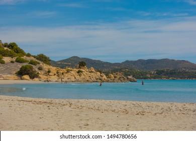 Beautiful Wild Beach in Sardinia
