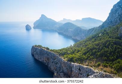 Beautiful wild seascape island of Majorca