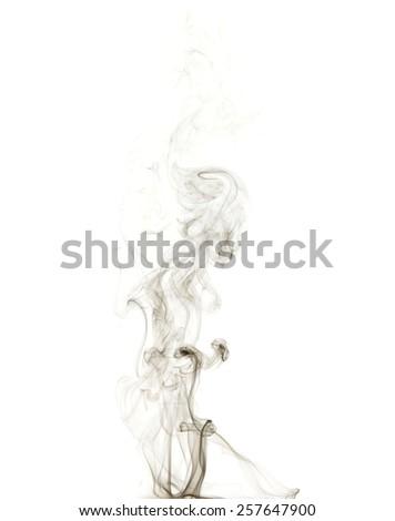 Beautiful Wisp Smoke Rises Stock Photo (Edit Now) 257647900