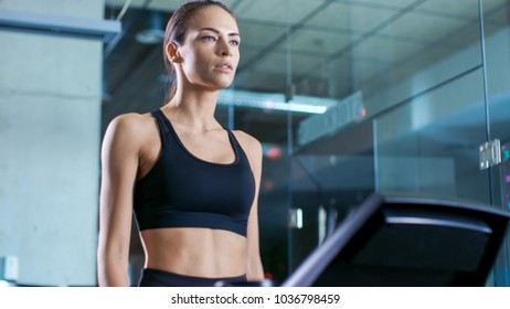 dfbb492643 Beautiful Woman Athlete Wearing Sport Bra Stock Photo (Edit Now ...