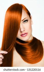 Beautiful Woman. Beauty Model Woman. Hairstyle. Woman Spa