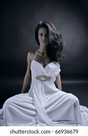 Beautiful woman. Fashion art photo.