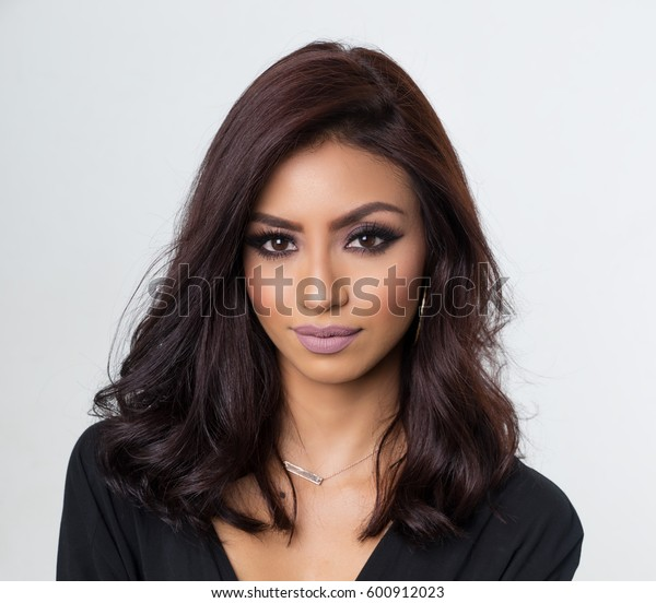 Beautiful woman with gorgeous hair