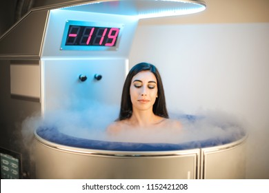 Beautiful woman having an health treatment in a beauty centre