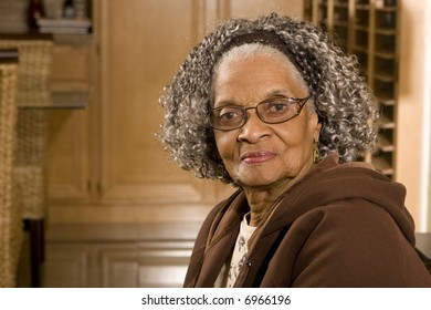 Beautiful woman in her 80's