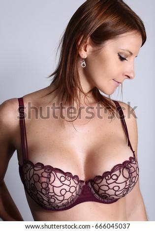 Big breast photography