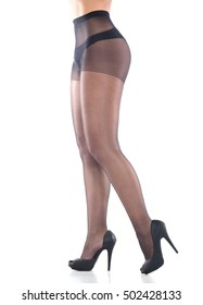 493ab98ea4846 Woman Tall Legs Blue Purple Violet Stock Photo (Edit Now) 391201522 ...