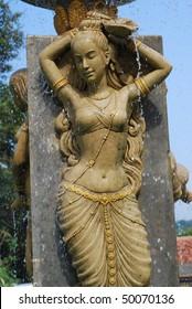 Beautiful Woman Statue Stone