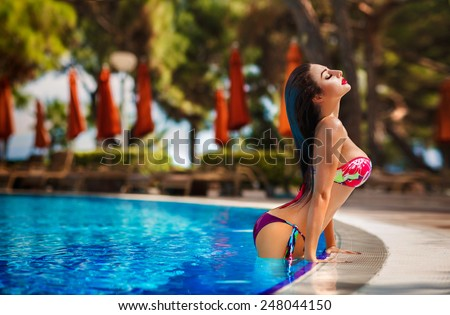 Topic sexy girl in pool have