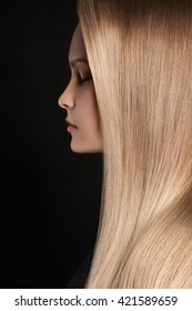 beautiful woman with wonderful hair.girl with healthy Hair