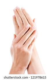 Beautiful woman's hands,Female hands