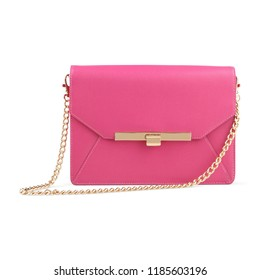 beautiful women clutch bag isolated on white, colourful clutches and bags for women