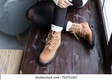 Beautiful women winter shoes