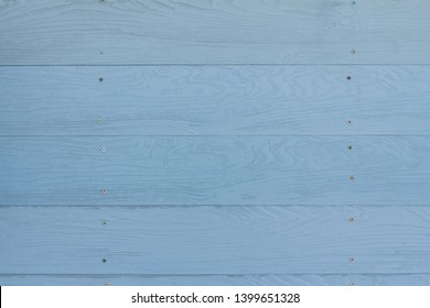 Beautiful wood plank texture and background patterns for design, cement striped wood wall, Close up blue or pastel color wood substitute board and high quality fiber cement board for architecture