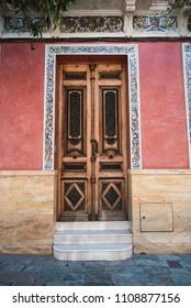 Beautiful Wooden Door, Seville, Spain