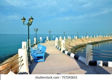 Beautiful Yanbu City in Saudi Arabia with Beach, Sea Side, Garden, Parks