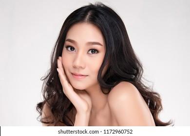 Lovely asian girls models clean