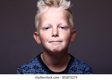 Beautiful young boy