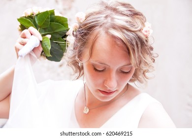 Beautiful young bride