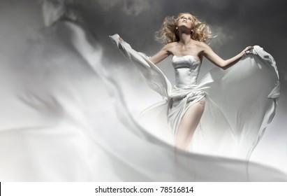 Beautiful young bride
