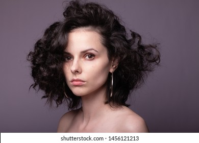 Curly Hair Images Stock Photos Vectors Shutterstock