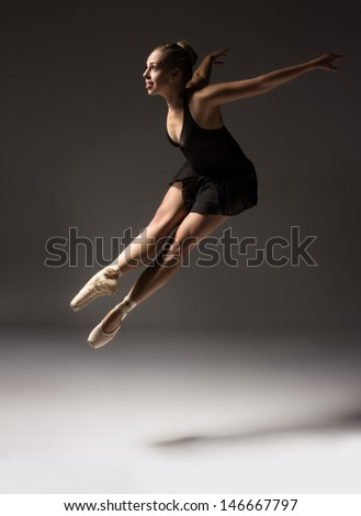 52bc30ec9 Beautiful Young Female Classical Ballet Dancer Stock Photo (Edit Now ...