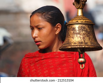beautiful young girl from Kathmandu Nepal