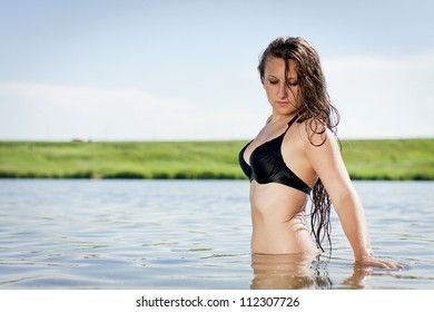 Naked swim young girls