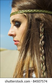 Hippie Hairstyle Images Stock Photos Vectors Shutterstock