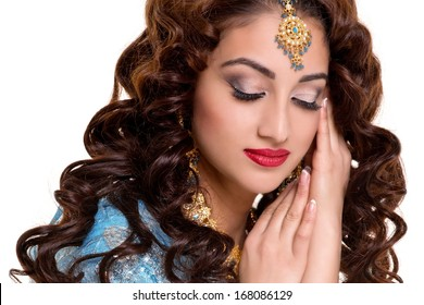 1000 Indian Bridal Makeup Pictures Royalty Free Images Stock