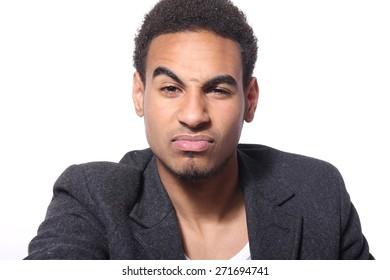 Beautiful young man