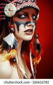 Native American Sexy Girls Images Stock Photos Vectors