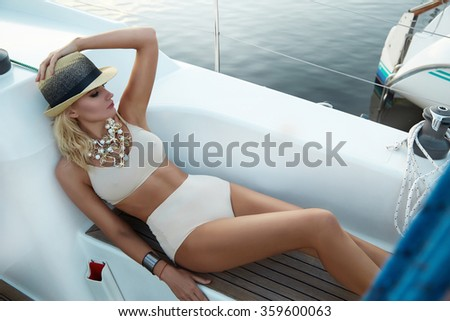 Boat sexy trip