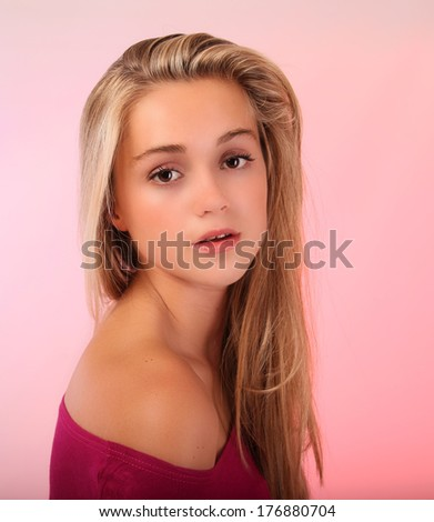 Commit teen blonde blond the