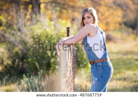 farm girls teen Young