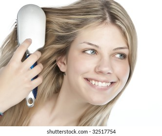 Hair Brush With Hairs Stock Photos Images Photography Shutterstock