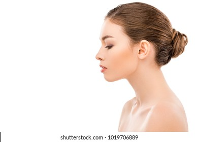Woman Face Side View Images, Stock Photos & Vectors ...
