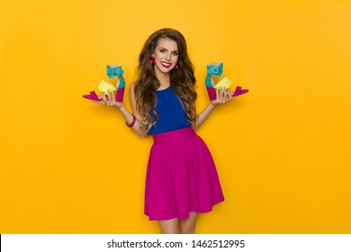 2e89abdaefd Colorful Skirt Images, Stock Photos & Vectors | Shutterstock