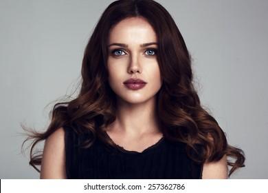 beautiful young woman portrait