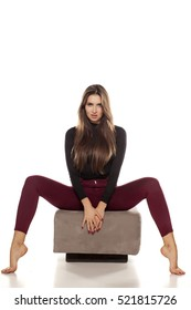Sitting open woman with their legs Hilarious photographs