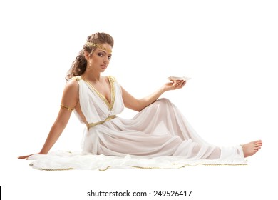 Girl nude greek goddess costume you will