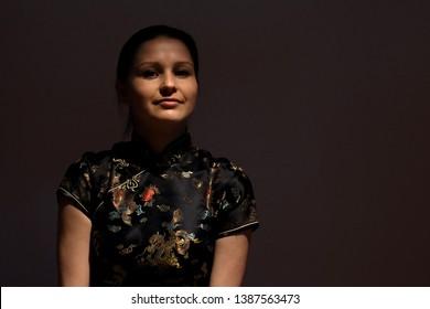 beautiful young woman, studio photosession, Kyiv, Ukraine
