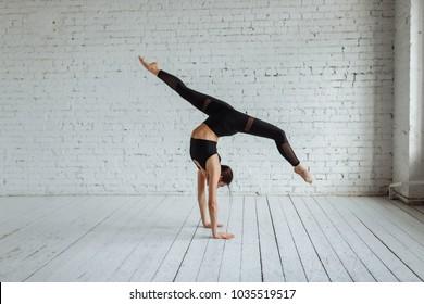 handstand images stock photos  vectors  shutterstock