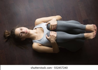 knees to chest images stock photos  vectors  shutterstock