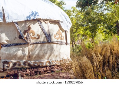 A beautiful yurt in Kyrgyzstan