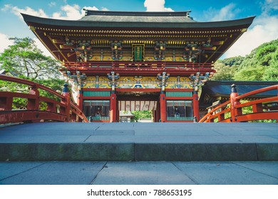 Beautiful Yutoku Inari Shrine in Saga, Japan. One of the three most famous Inari shrines in Japan.