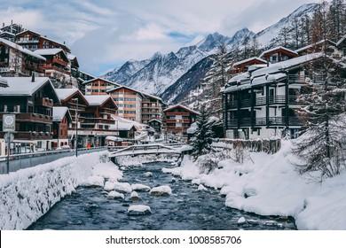 Beautiful Zermatt City