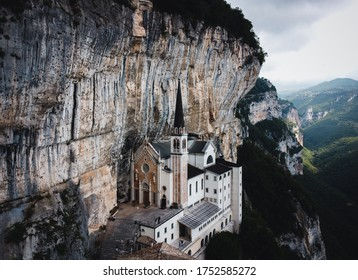 !beautifull landscape! The sanctuary of the Madonna della Corona is located in the province of Verona, in a hollow excavated in Mount Baldo.