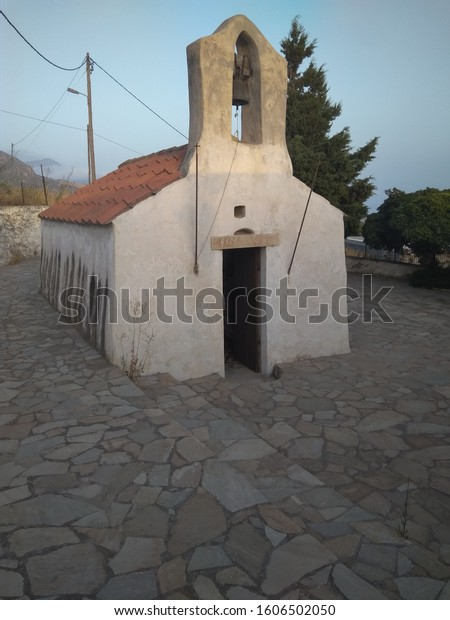 A beautifull old tiny cristian temple